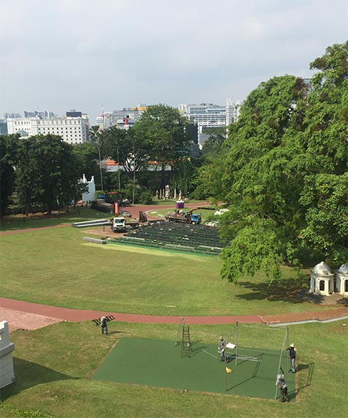 Fort Canning Hill at Fraser Residence Promenade