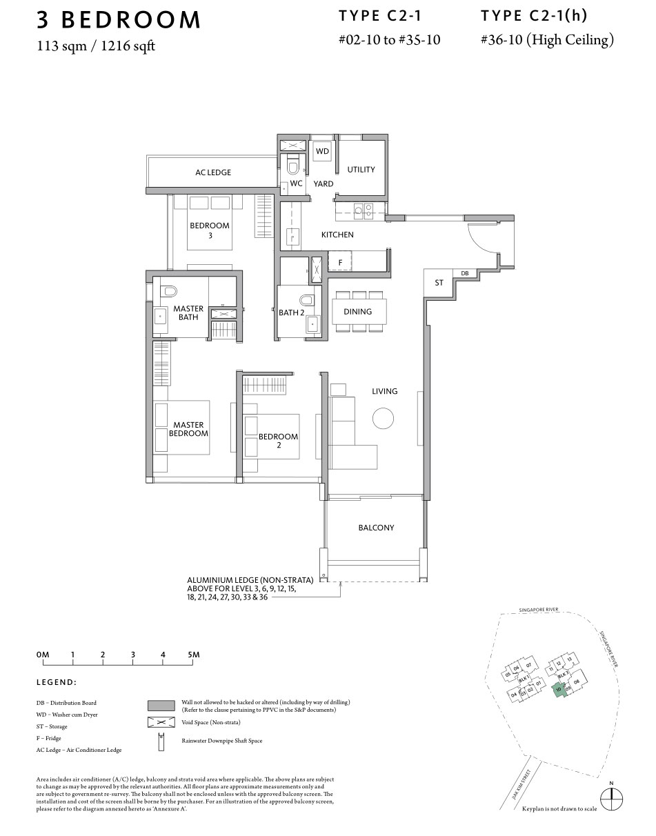 Riviere 3-Bedroom-C2-1