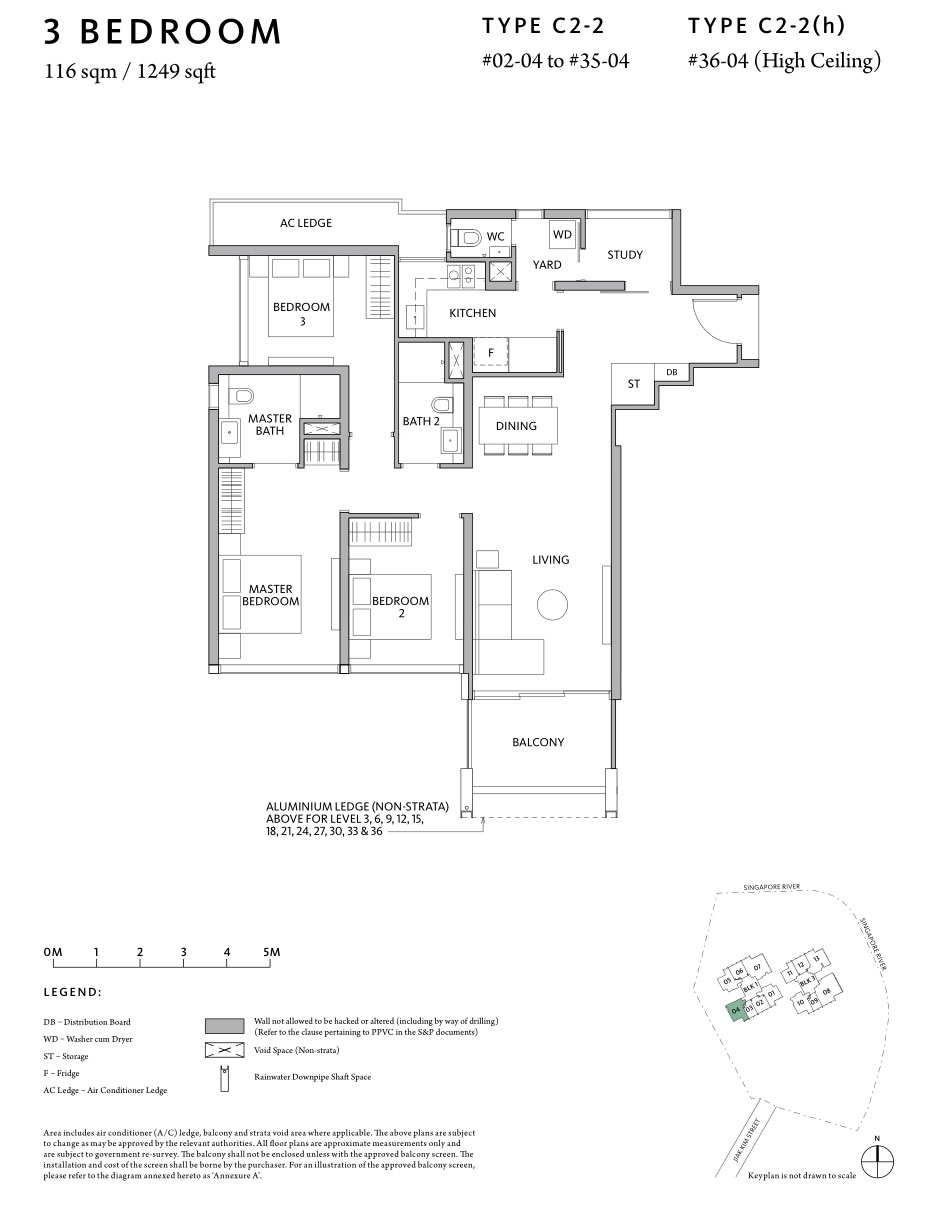 Riviere 3-Bedroom-C2-2