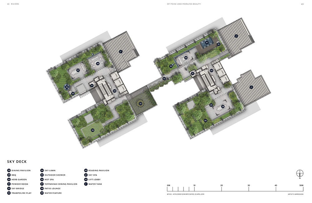 Sitemap And Floor Plans Riviere Condo By Frasers