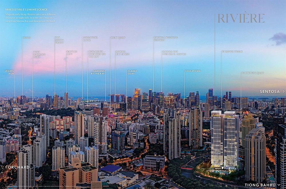 Riviere Skyline